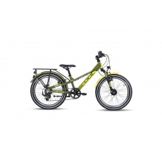S'COOL  Detský bicykel troX EVO 21s zelený/žltý