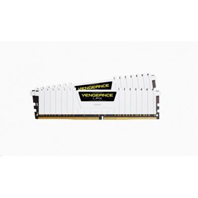 CORSAIR DDR4 32GB (Kit 2x16GB) Vengeance LPX DIMM 3000MHz CL15 bílá