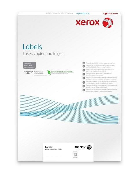 Plastový samolepicí materiál Xerox PNT Label - Clear (229g/100 listů, A4)