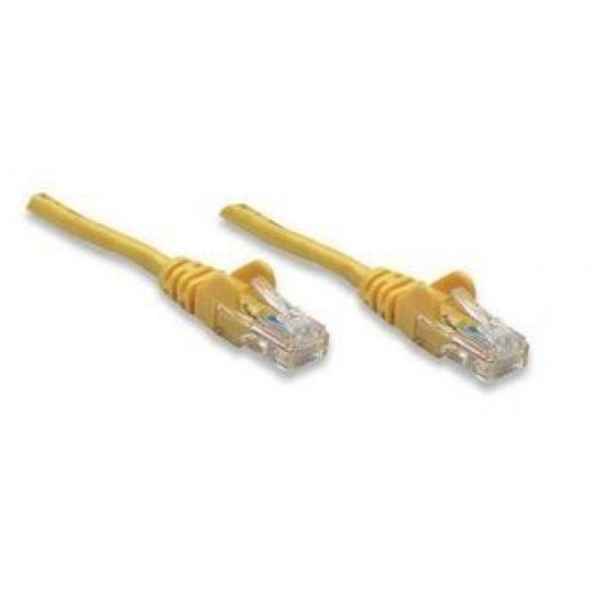 Intellinet Patch kabel Cat5e UTP 20m žlutý