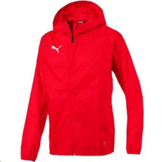 Puma LIGA TRAINING RAIN JKT core, pánska bunda, veľkosť L - červené  prevedenie - PROMO AKCIA LENOVO