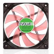 EVOLVEO 12L1RD ventilátor 120mm, 4 LED červený, 3pin
