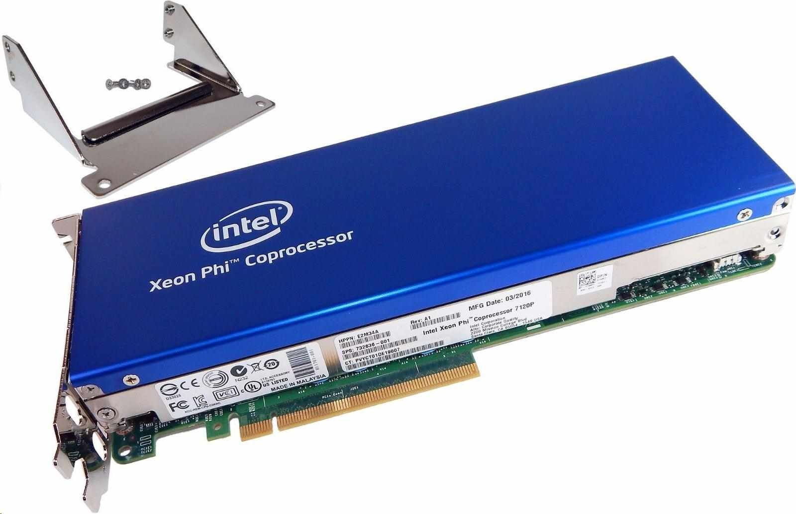 Intel® Xeon® Phi 7120P (16GB/300W) Coprocessor Kit
