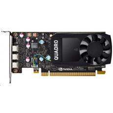 NVIDIA T400 2GB GDDR6, 3x mini DisplayPort 1.4
