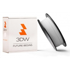 3DW - ABS filament pre 3D tlačiarne, priemer struny 2,9mm, farba biela, váha 1kg, teplota tisku 220-250°C