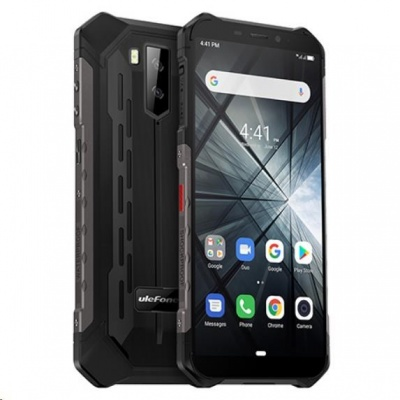 "UleFone smartphone Armor X3, 5,5"" Black 5,5"" Android 9 Pie 32GB, 5000mAh"