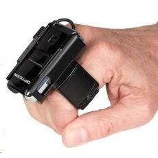 Opticon RS-2006, ring scanner, 1D čítačka čiarových kódov na dva prsty, wearable, datakolektor, BT, laser.