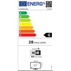 "LG MT IPS LCD LED 27"" 27GP850 - IPS panel, 165Hz, 2560x1440, 2xHDMI, DP, USB 3.0, pivot, G-SYNC"