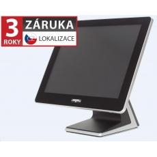 """Virtuos AerPOS PP-9635BV,15""""LCD LED350, 4GB RAM, bezrámečkový, černý - bez HDD"""