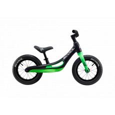 S'COOL  Detské odrážadlo pedeX Magnesium čierno/zelené