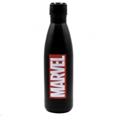 Puro Disney láhev z nerezové oceli MARVEL LOGO, single wall, 750ml Black