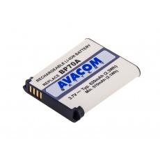 AVACOM fotobaterie pro Samsung BP70A Li-Ion 3.7V 700mAh 2.6Wh