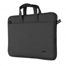 """TRUST Pouzdro na notebook 16"""" Bologna Slim Laptop Bag Eco, černá"""