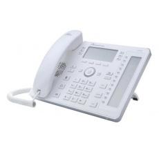 AudioCodes IP telefon 440HD, grafický displej, 10/100/1000 Mbps, PoE, bílá