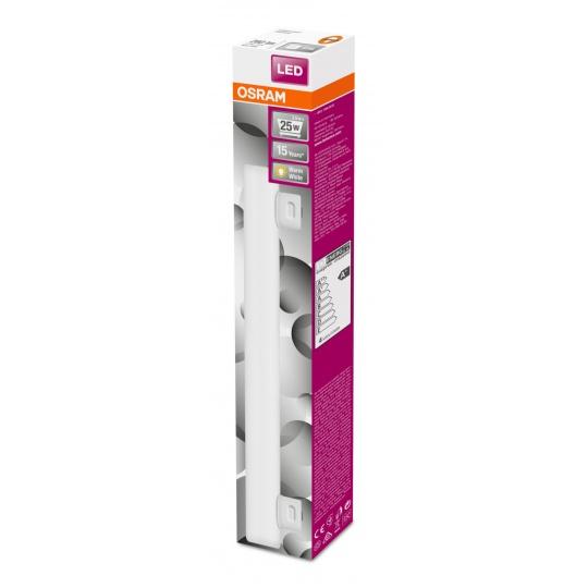 OSRAM LEDinestra 3,5W 827 S14s FR 260lm 2700K (CRI 80) 15000h A+ (Krabička 1ks)