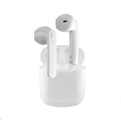 4smarts bluetooth stereo sluchátka Eara TWS SkyPods, bílá