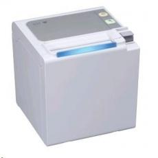 Seiko pokladničná tlačiareň RP-E10, rezačka, Horný výstup, serial, biela