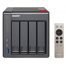 QNAP TS-451+-8G (4C/Celeron J1900/2,0-2,42GHz/8GBRAM/4xSATA/2xGbE/2xUSB2.0/2xUSB3.0/1xHDMI)