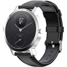 Withings Accessory Leather Sport Wristband (20mm) for Steel HR Sport - Black
