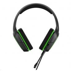 iPega herní stereo sluchátka s mikrofonem PG-R006, 3,5 mm jack, zelená