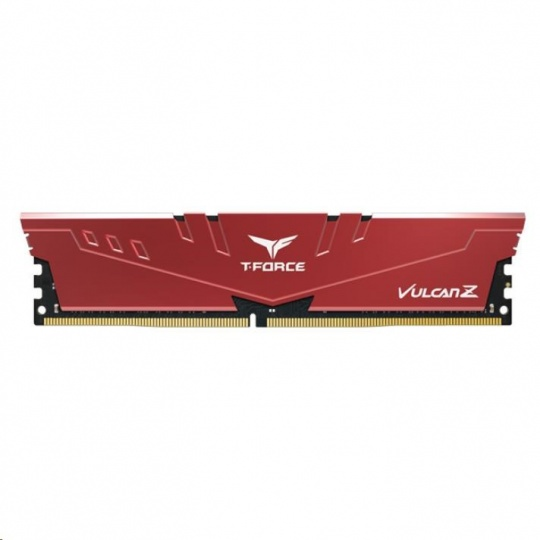 DIMM DDR4 8GB 2666MHz, CL18, (KIT 2x4GB), T-FORCE VULCAN Z, Red