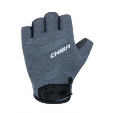 Chiba Cyklistické rukavice pre ženy Lady SuperLight tmavošedé