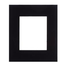 2N® IP Verso - Rám pre inštaláciu do steny, 1 modul - čierne prevedenie