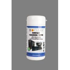 DCLEAN Čistící utěrky na plasty v dóze (100ks)