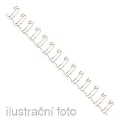 Drátěné hřbety GBC, 3:1, A4/ 8 mm, bílé