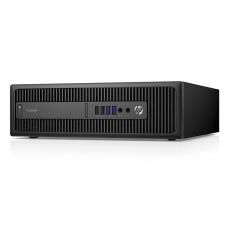 HP ProDesk 600 G2 SFF- Core i3 6100 3.7GHz/8GB RAM/128GB SSD + 500GB HDD