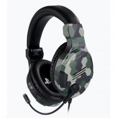 Bigben herní sluchátka s mikrofonem - zelené