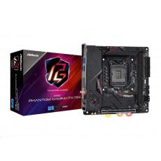 ASRock MB Sc LGA1200 Z590 PHANTOM GAMING-ITX/TB4, Intel Z590, 2xDDR4, 1xDP, 1xHDMI, WI-FI, mini-ITX