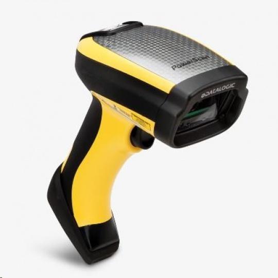 Datalogic PowerScan PD9531-HPE, 10-30 VDC, 2D, HD, LR, SR, WA, multi-IF, black, žlutá