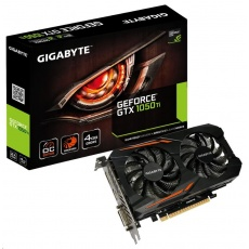 GIGABYTE VGA NVIDIA GeForce GTX 1050 Ti OC 4G, 4GB GDDR5, 1xHDMI, 1xDP, 1xDVI-D