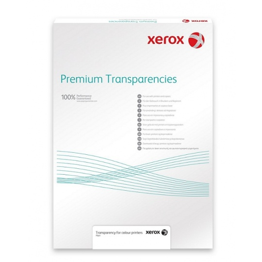 Xerox Papír Transparentní fólie - 115m A4 Plain (50 listů, A4)