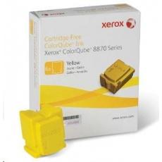 Xerox ColorQube Ink pro 8870/8880 yellow (6 STICKS), DMO (17 300str.)