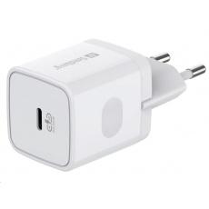 Sandberg síťová nabíječka USB-C, PD 20W, bílá
