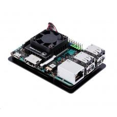 ASUS Hliníková krabička Tinker Board Open Case DIY Kit, hliníkový chladič a ventilátor