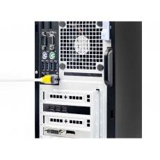 SMARTKEEPER Basic LAN Cable Lock 5 - 1x klíč + 5x záslepka, růžová