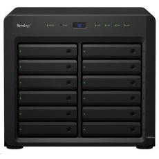 Synology DS3617xs DiskStation (4C/XeonD-1527/2,2-2,7GHz/16GBRAM/12xSATA/2xUSB3.0/4xGbE/1xPCIe)