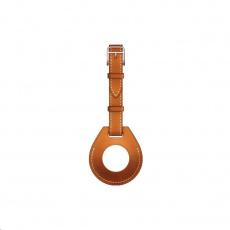 COTEetCI kožené pouzdro na zavazadla H-series pro Apple AirTag, oranžová
