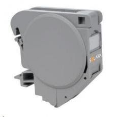 Solarix Průmyslový modul na DIN lištu pro jeden keystone šedý SXKJ-DIN-GY