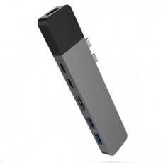 HyperDrive NET Hub for USB-C pro MacBook Pro - Space Grey  - ROZBALENÝ OBAL