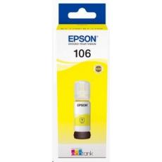 EPSON poškozený obal ink bar 106 EcoTank Yellow ink bottle