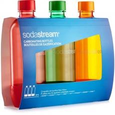 SODASTREAM lahev TriPack 1l ORANGE/RED/GREEN