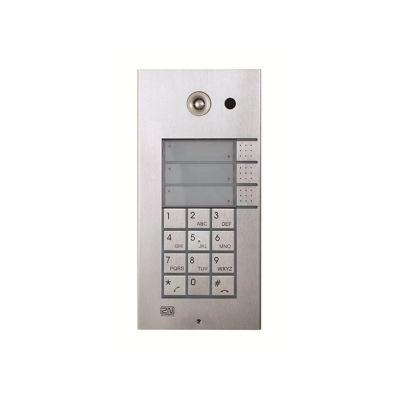 2N® Helios IP Vario - 3x 1 tlačítko, klávesnica, kamera