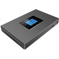 Grandstream UCM6301 [IP PBX - IP pobočková ústředna, 1xFXO, 1FXS, 3xRJ-45, 1x USB, SD-card, PoE+]