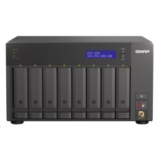 QNAP QVP-85A (6C/i5-8400T/1,7-3,3GHz/16GBRAM/8xSATA/2xM.2/1xUSB3.0/4xUSB3.1/1xHDMI/2xGbE/2xPCle/kamery: 8 (max48)