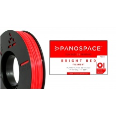 FILAMENT Panospace type: PLA -- 1,75mm, 750 gram per roll - Červená