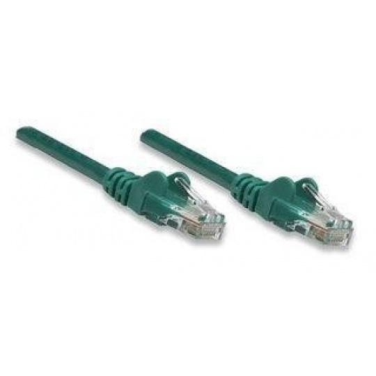 Intellinet Patch kabel Cat5e UTP 20m zelený